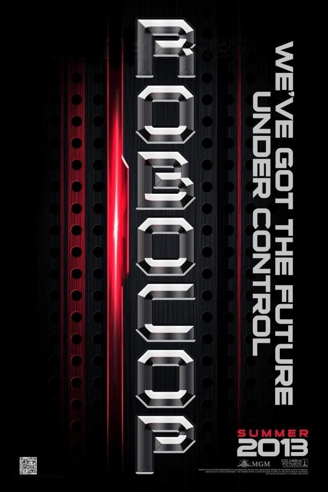 плакат фильма тизер сейлс-арт Робокоп