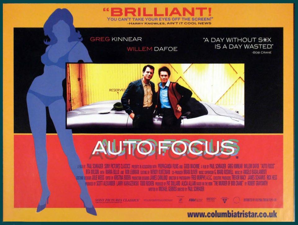 плакат фильма постер Автофокус