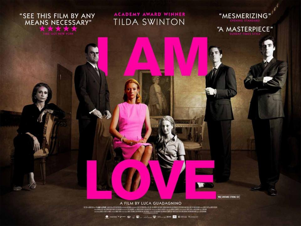 плакат фильма постер Я — любовь*