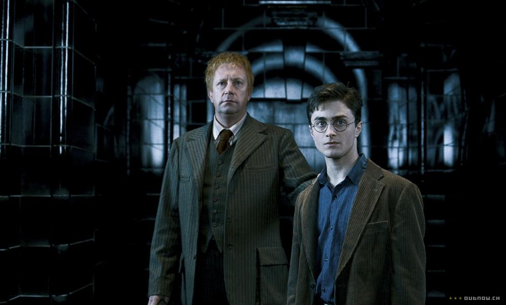 кадры из фильма Гарри Поттер и Орден Феникса Марк Уильямс, Дэниэл Рэдклифф,