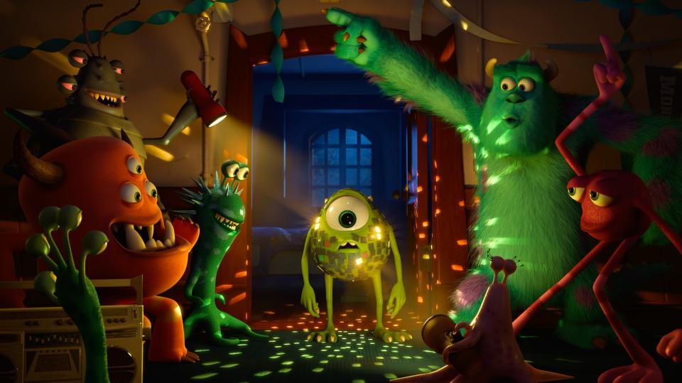 кадры из фильма Университет монстров