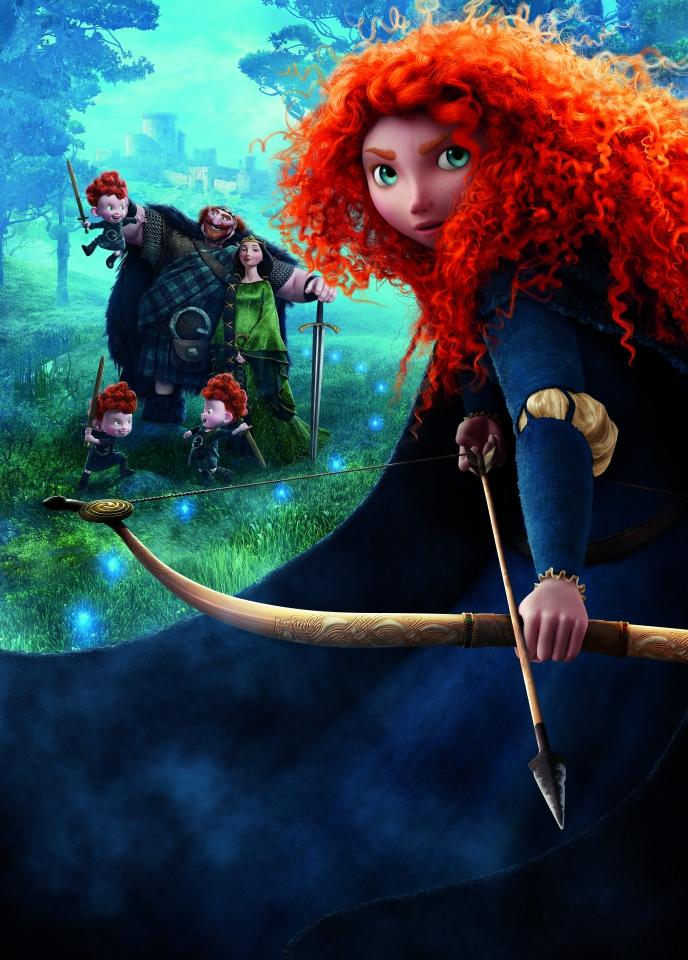 плакат фильма постер textless Храбрая сердцем