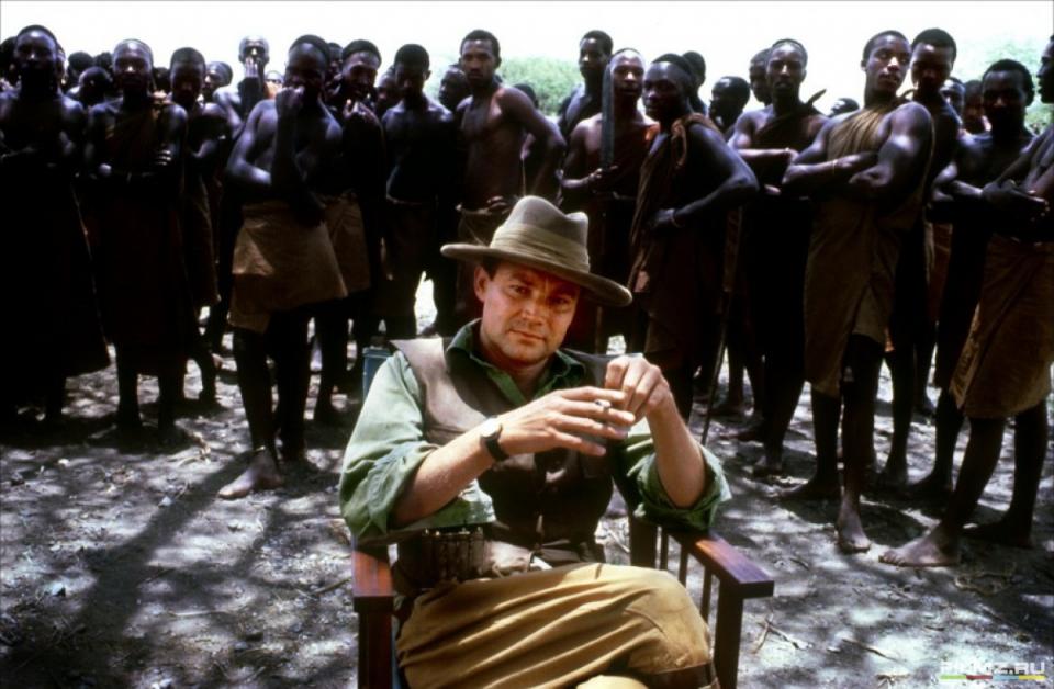 кадры из фильма Из Африки Клаус Мария Брандауэр,
