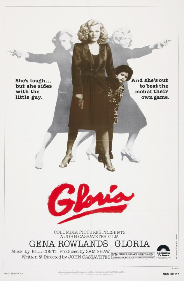 плакат фильма постер Глория