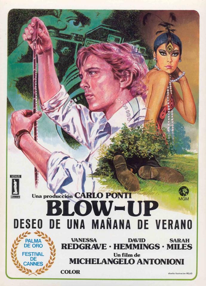 плакат фильма Фотоувеличение