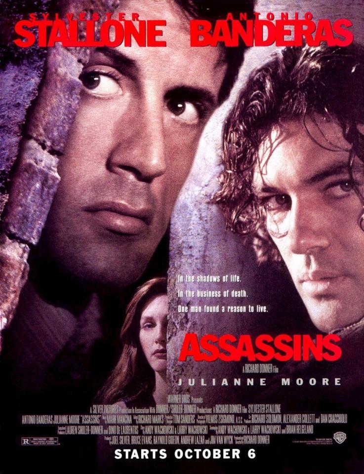 плакат фильма постер Наемные убийцы