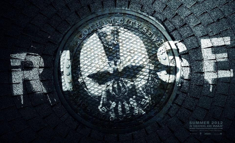 плакат фильма баннер Темный рыцарь: Возрождение легенды