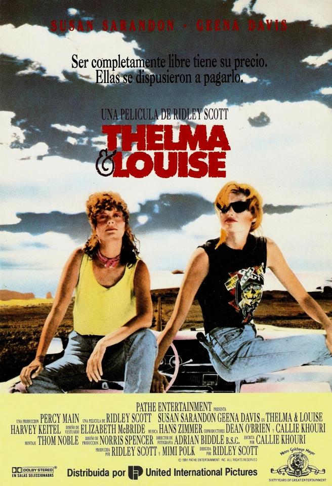 плакат фильма Тельма и Луиза