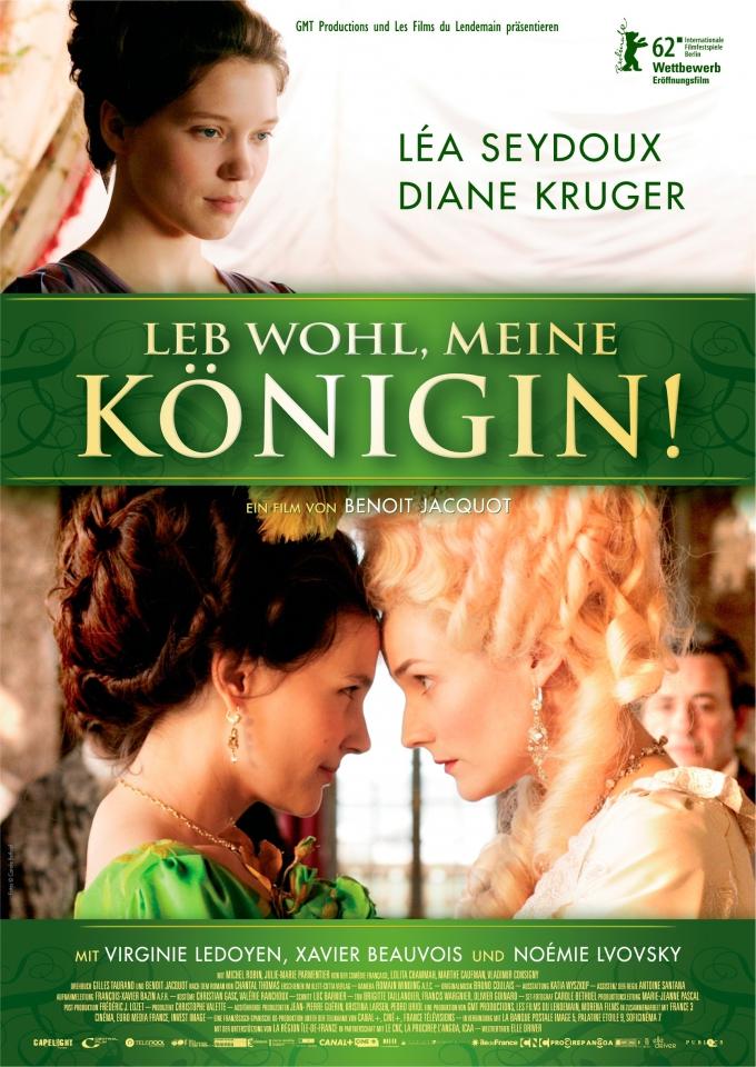 плакат фильма постер Прощай, моя королева