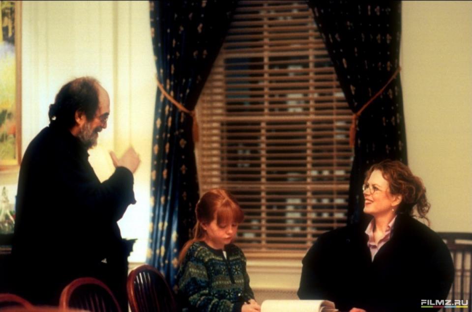 со съемок С широко закрытыми глазами Николь Кидман, Стэнли Кубрик,