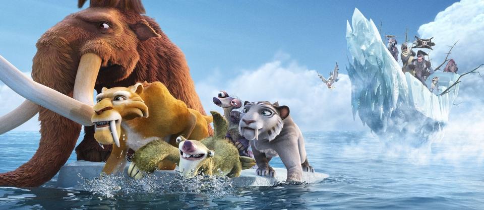 кадры из фильма Ледниковый период 4: Континентальный дрейф