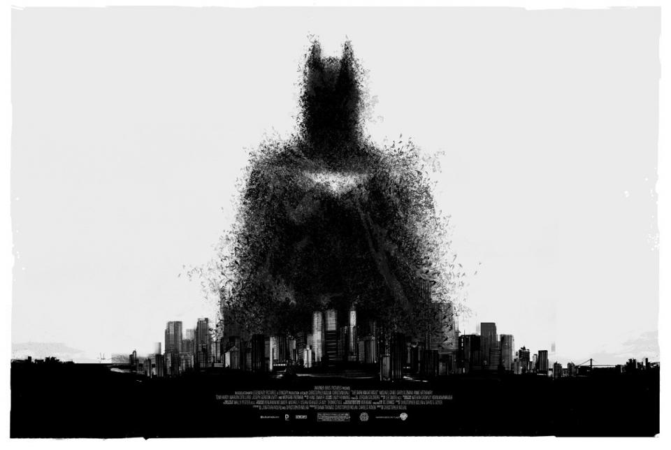 плакат фильма арт-постеры Темный рыцарь: Возрождение легенды