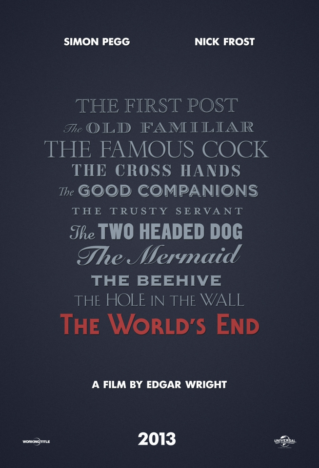 плакат фильма тизер Армагеддец