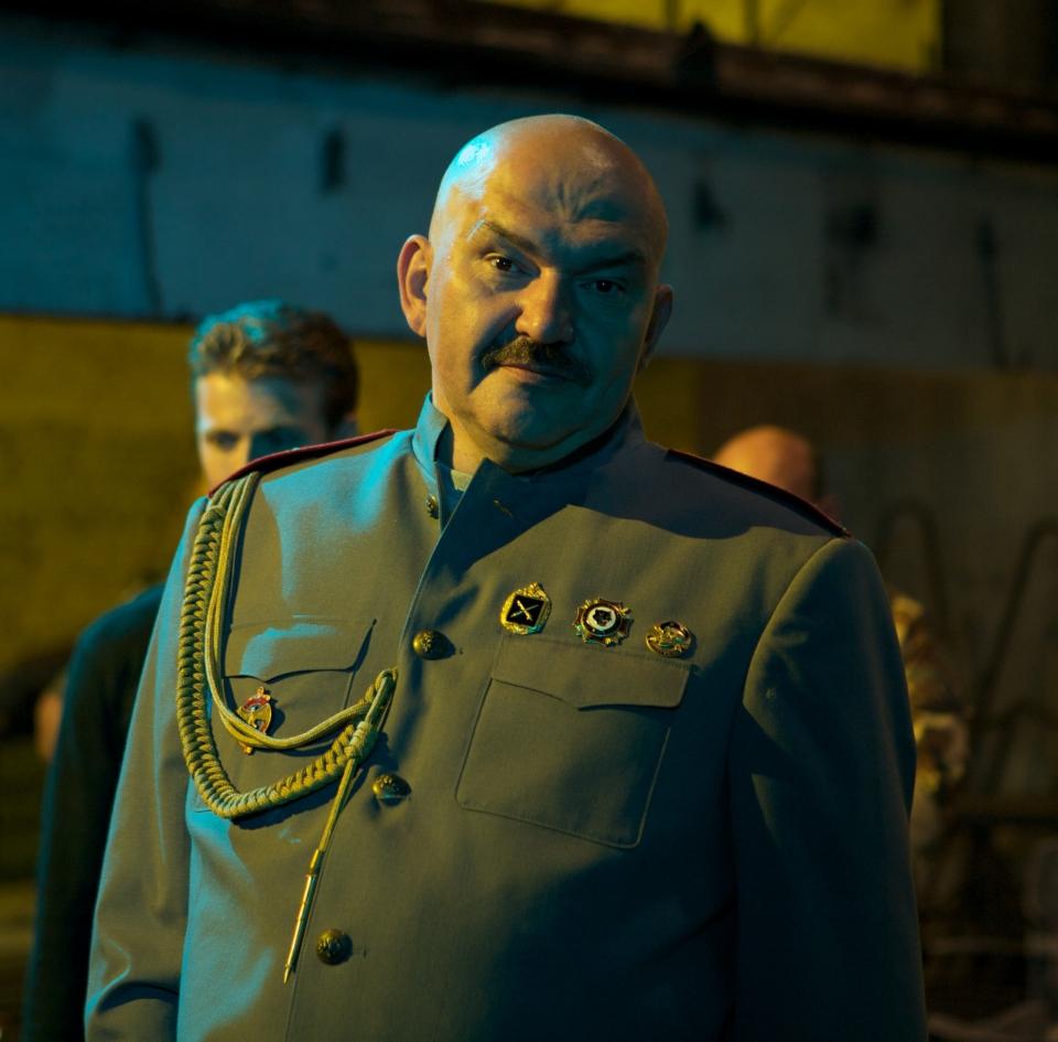 со съемок Солдаты удачи Геннадий Венгеров,