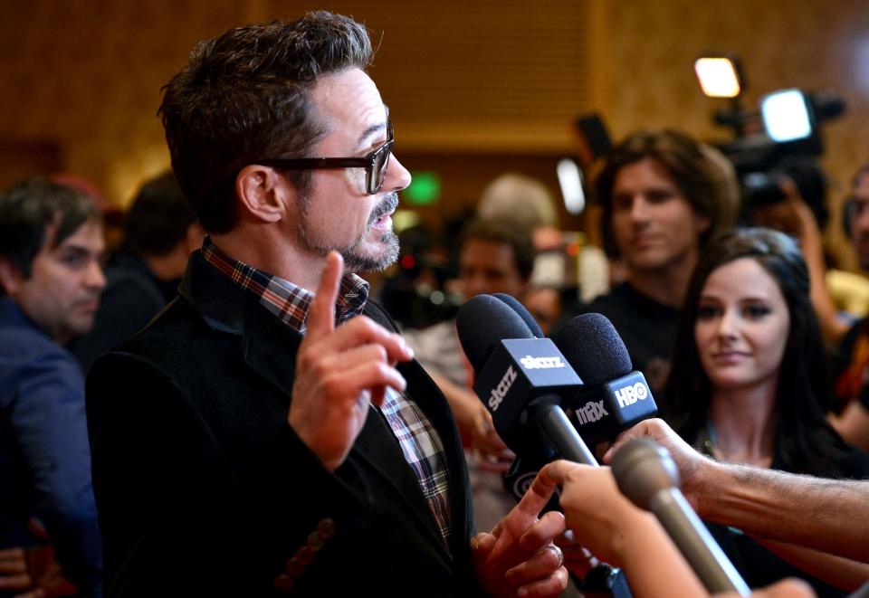 фотосессия «Железный человек 3» на Comic-Con 2012
