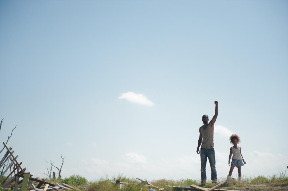 кадры из фильма Звери дикого юга Дуайт Хенри, Кувенжане Уоллис,