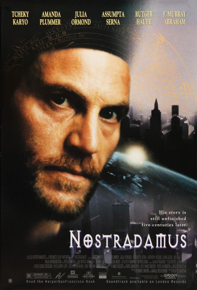 плакат фильма Нострадамус