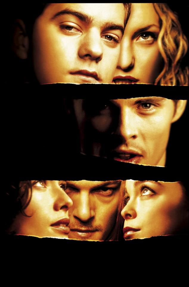 плакат фильма постер Сплетня
