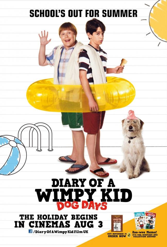 плакат фильма постер Дневник слабака 3*