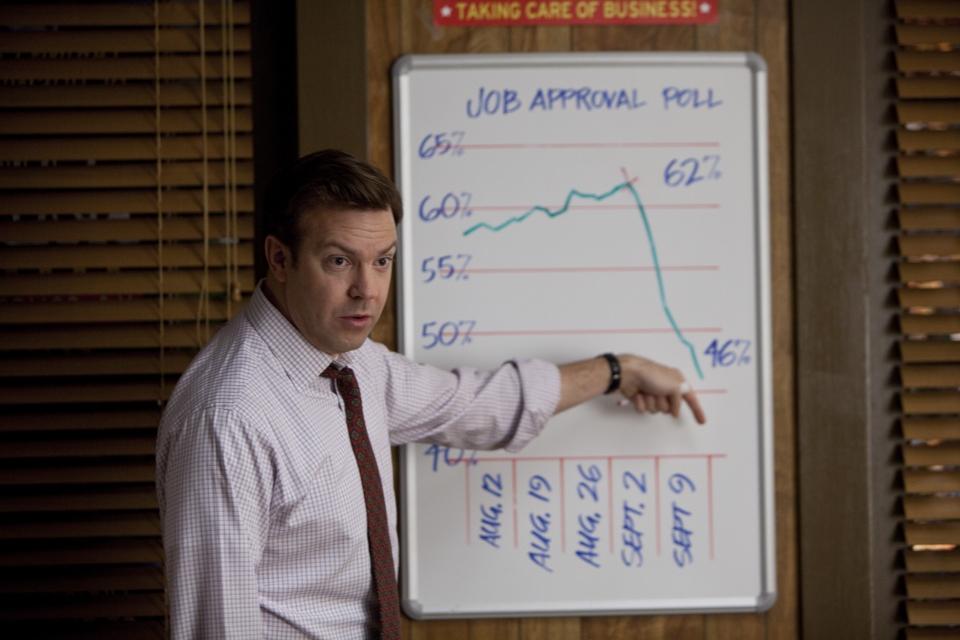 кадры из фильма Грязная кампания за честные выборы Джейсон Судейкис,