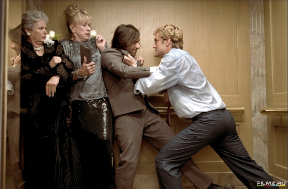 кадры из фильма Взломщики сердец Джейсон Шварцман, Джуд Лоу,