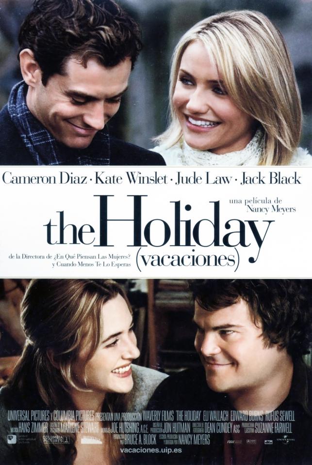 плакат фильма постер Отпуск по обмену