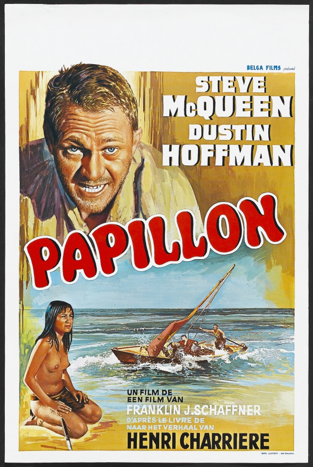 плакат фильма постер Мотылек