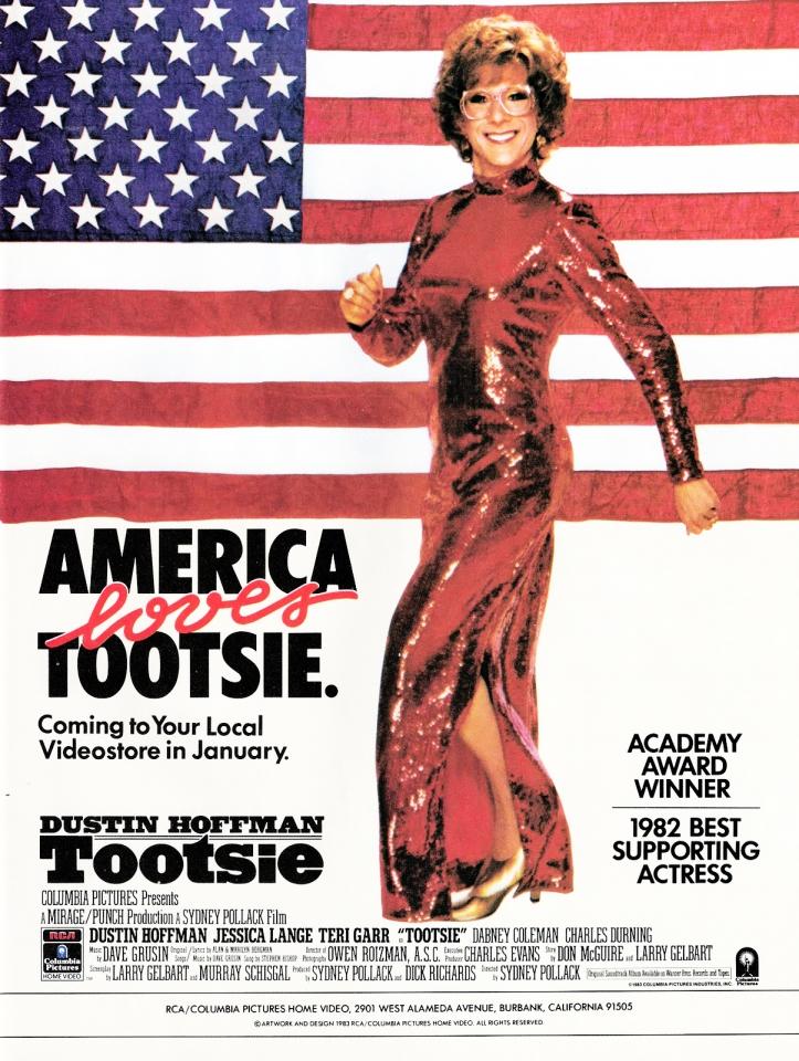 плакат фильма постер Тутси