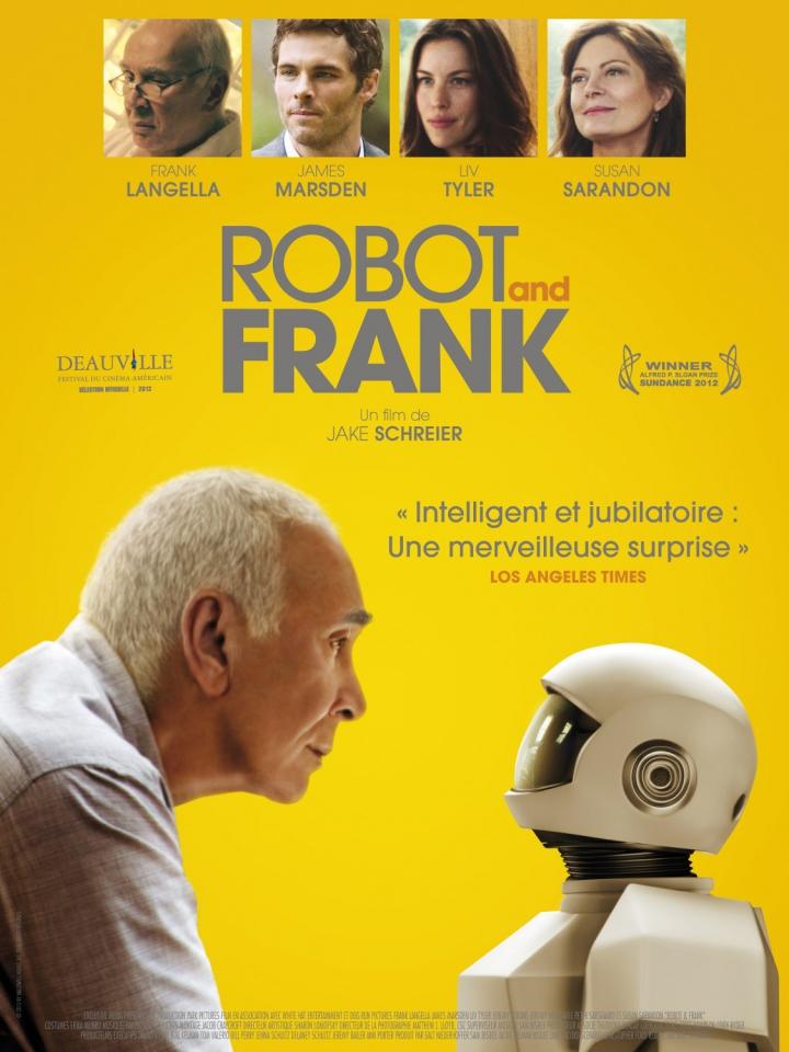 плакат фильма постер Робот и Фрэнк