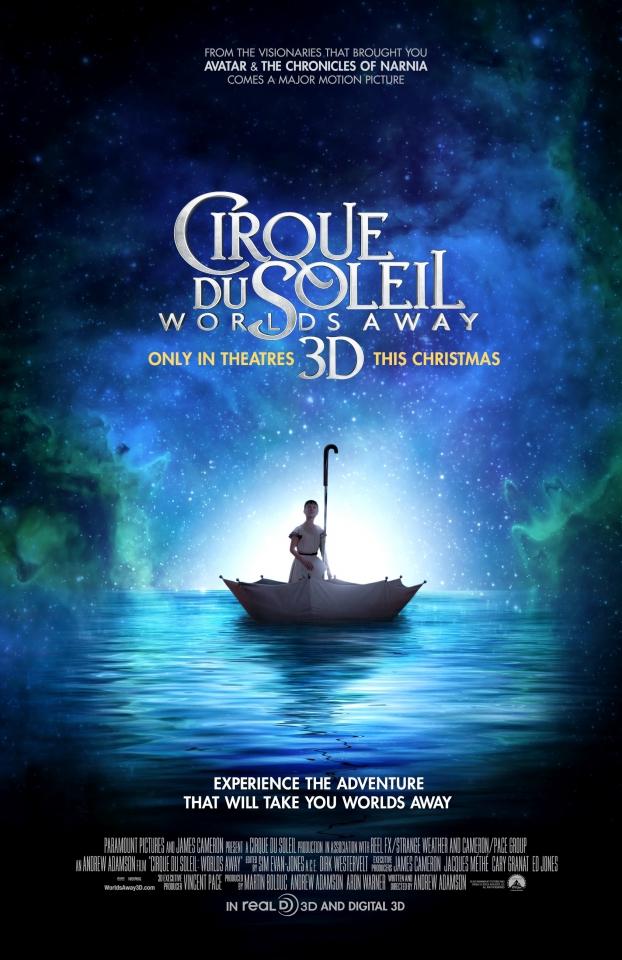 плакат фильма постер Cirque du Soleil: Сказочный мир