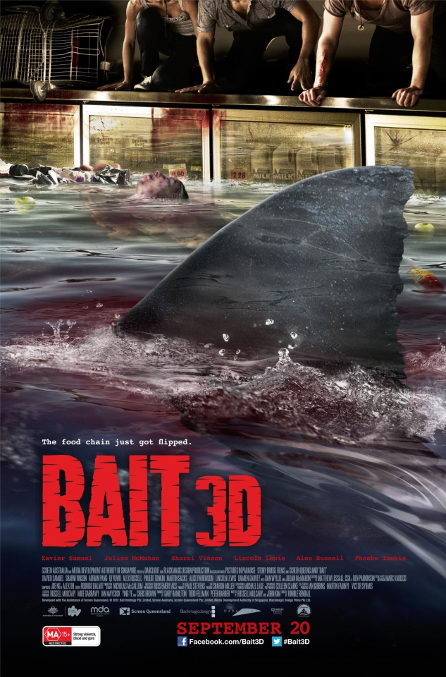 плакат фильма постер Цунами 3D