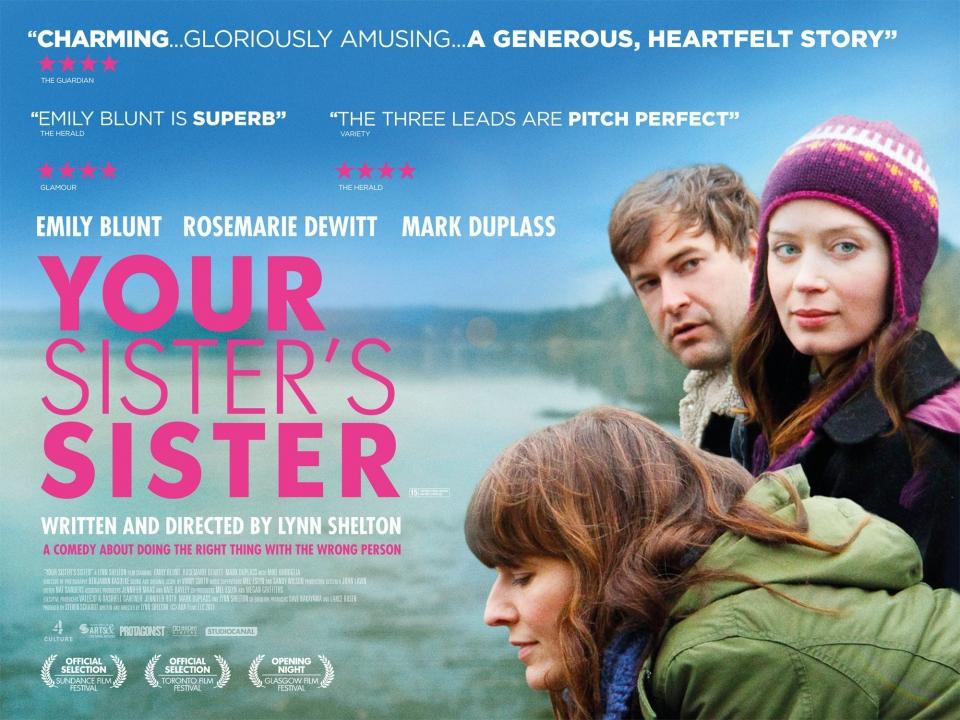 плакат фильма биллборды Сестра твоей сестры*