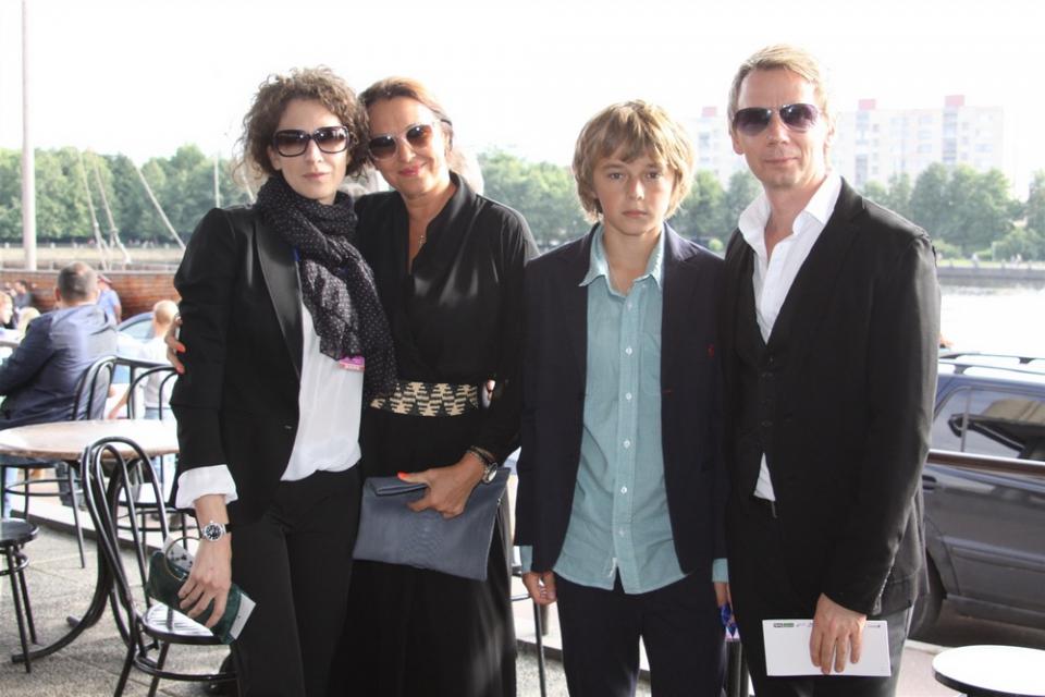 церемония открытия XX фестиваль «Окно в Европу» Татьяна Лютаева, Ксения Раппопорт,
