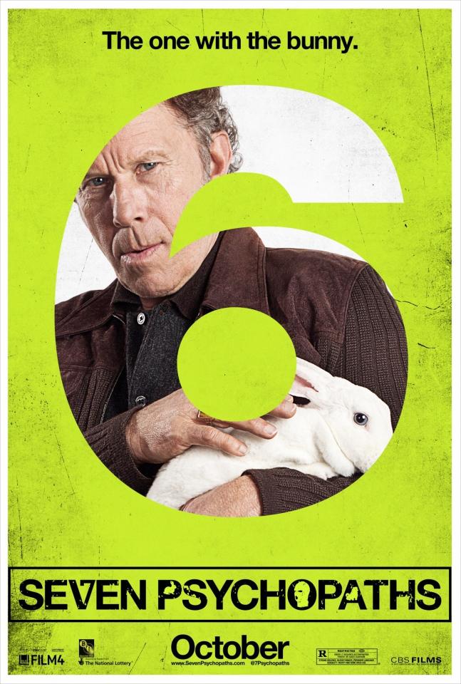 плакат фильма характер-постер Семь психопатов