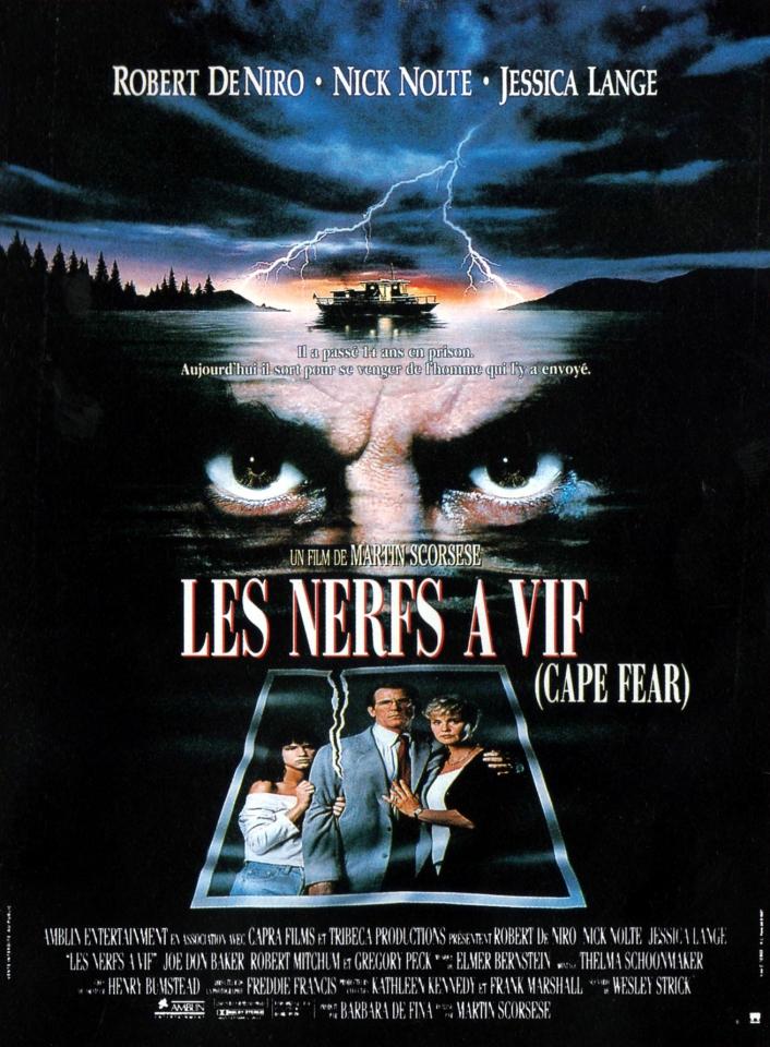 плакат фильма постер Мыс страха