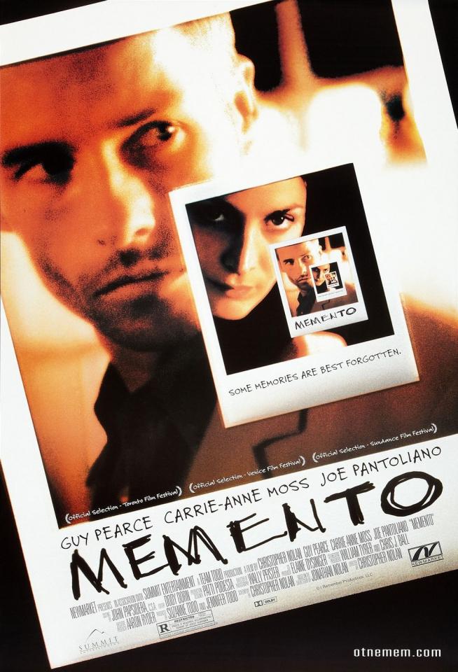 плакат фильма постер Помни