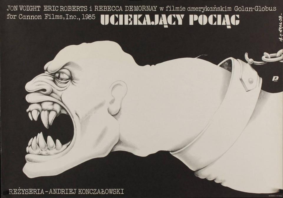 плакат фильма Поезд-беглец