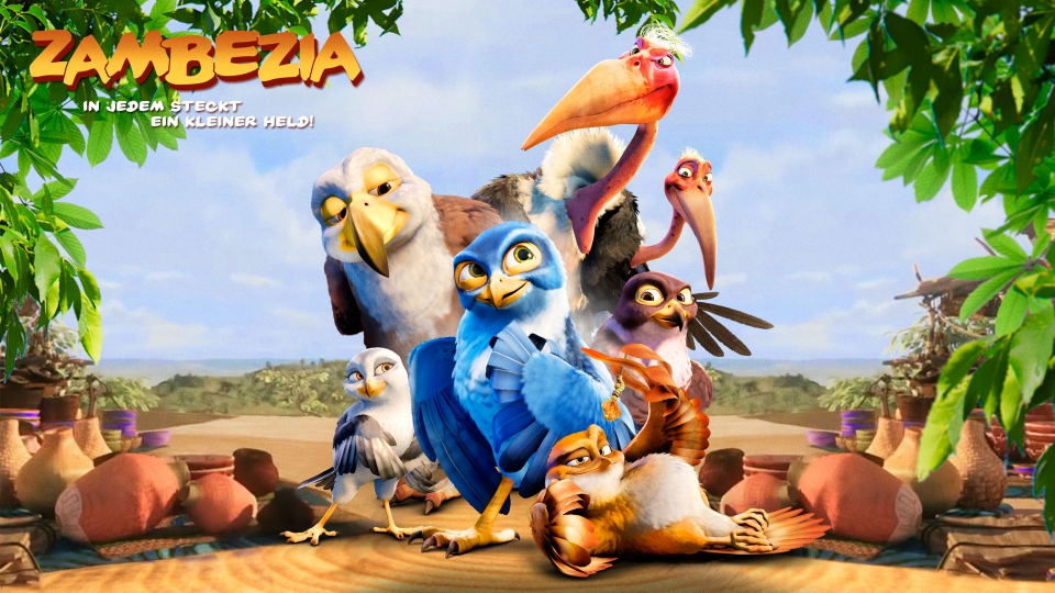 плакат фильма баннер Замбезия