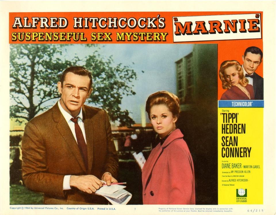 плакат фильма постер Марни