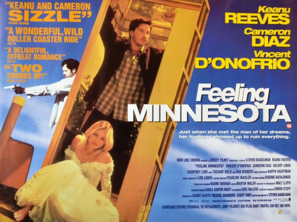 плакат фильма постер Чувствуя Миннесоту