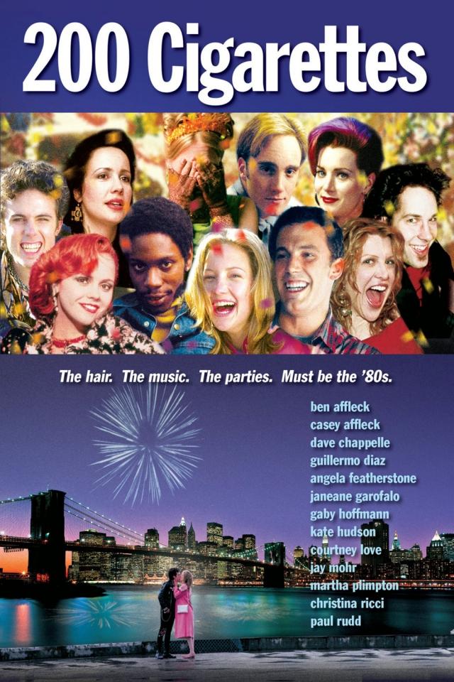 плакат фильма DVD 200 сигарет