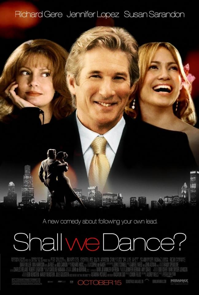 плакат фильма постер Давайте потанцуем