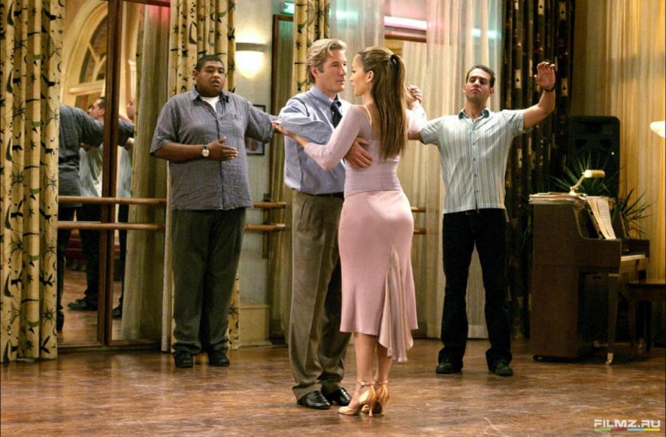 кадры из фильма Давайте потанцуем Дженнифер Лопес, Ричард Гир,