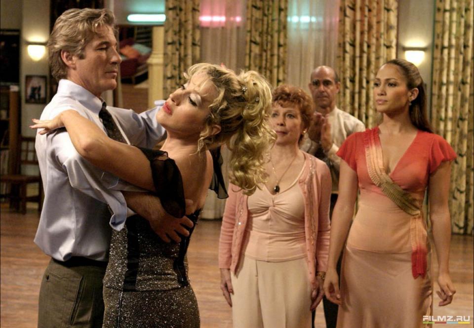 кадры из фильма Давайте потанцуем Стэнли Туччи, Дженнифер Лопес, Ричард Гир,