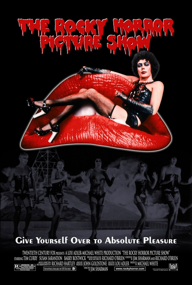 плакат фильма постер Шоу ужасов Рокки Хоррора