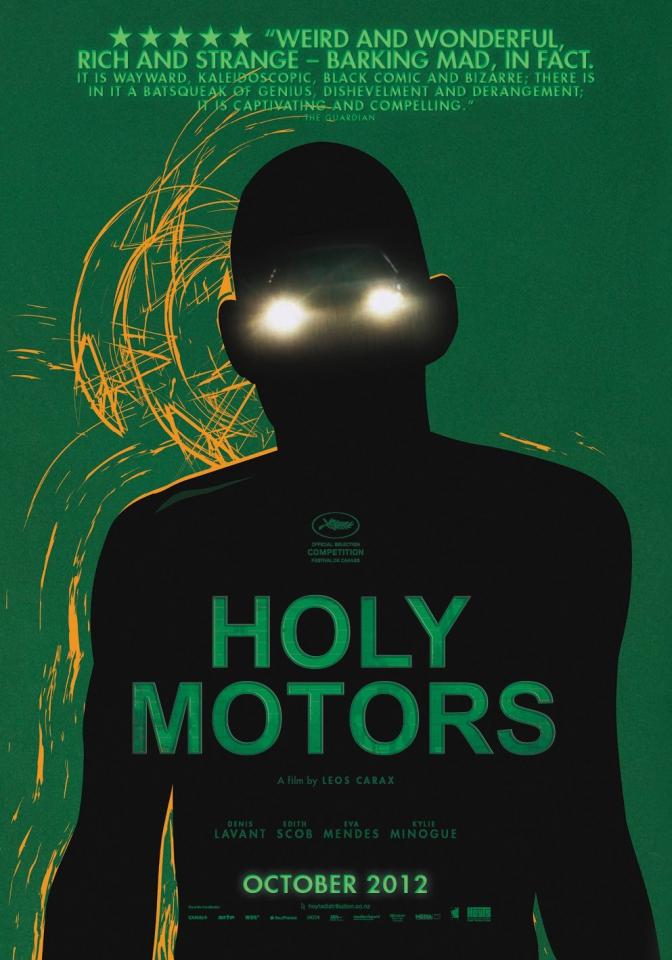 плакат фильма постер Корпорация «Святые моторы»