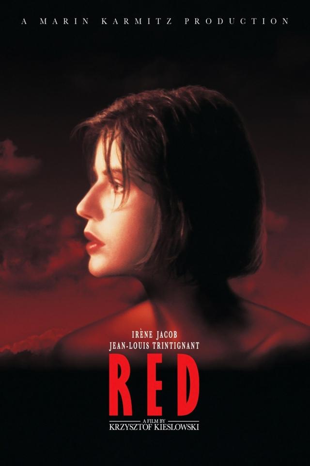 плакат фильма постер Три цвета: Красный