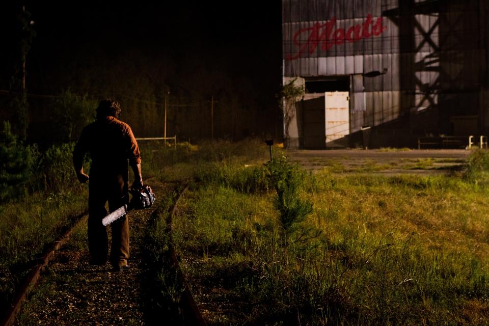 кадры из фильма Техасская резня бензопилой 3D
