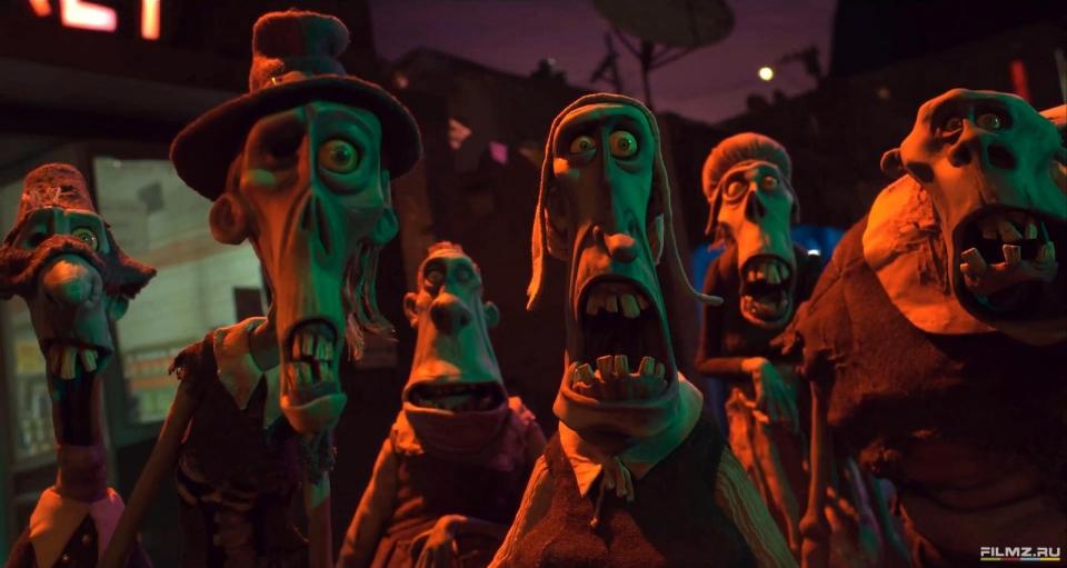 кадры из фильма ПараНорман, или Как приручить зомби