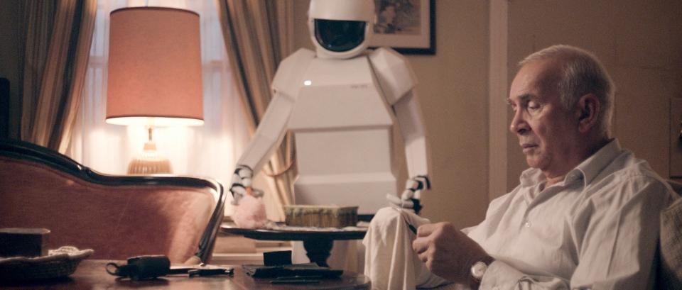 кадры из фильма Робот и Фрэнк Питер Сарсгард, Фрэнк Ланджелла,